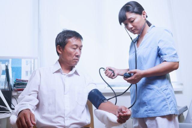 EPA看護師と患者